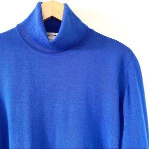 Rodier wool blend turtleneck sweater